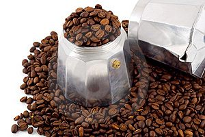 как заварить кофе в кофеварке